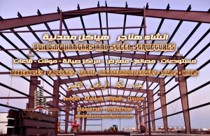 Building hangars and steel structures